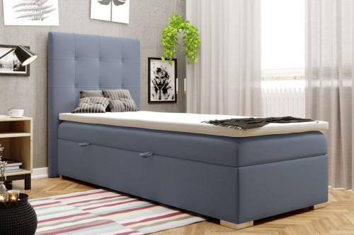 Boxspringbed DAISY Magic Velvet 2204 donkerblauw